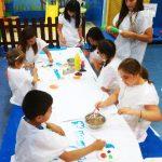 niños creando - actividades
