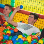 Piscina de bolas para fiestas de adultos en Barcelona